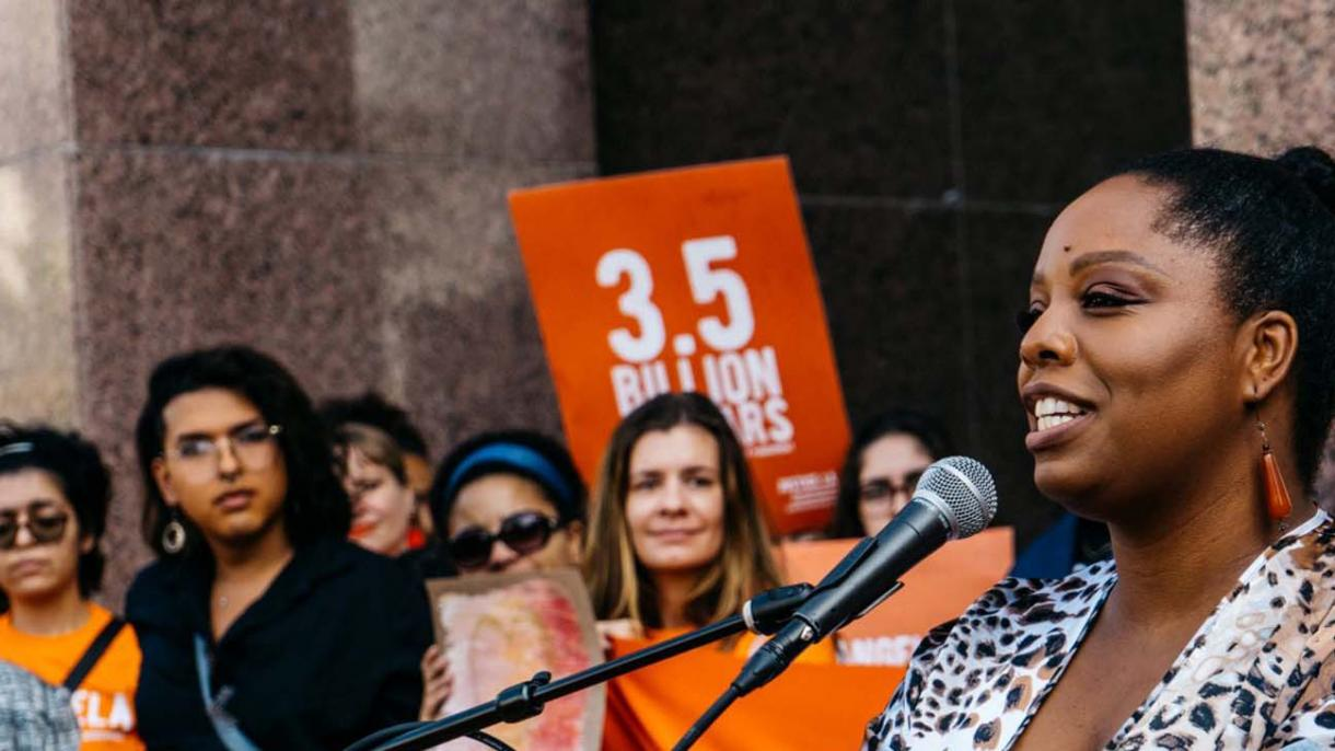 Patrisse Cullors New MFA in Social and Environmental Arts Practice